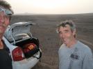 Avec Jacques en piste sitôt débarqués
