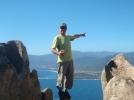 3 Col San Bastiano et baie Liscia