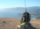 4 Col San Bastiano et baie Liscia